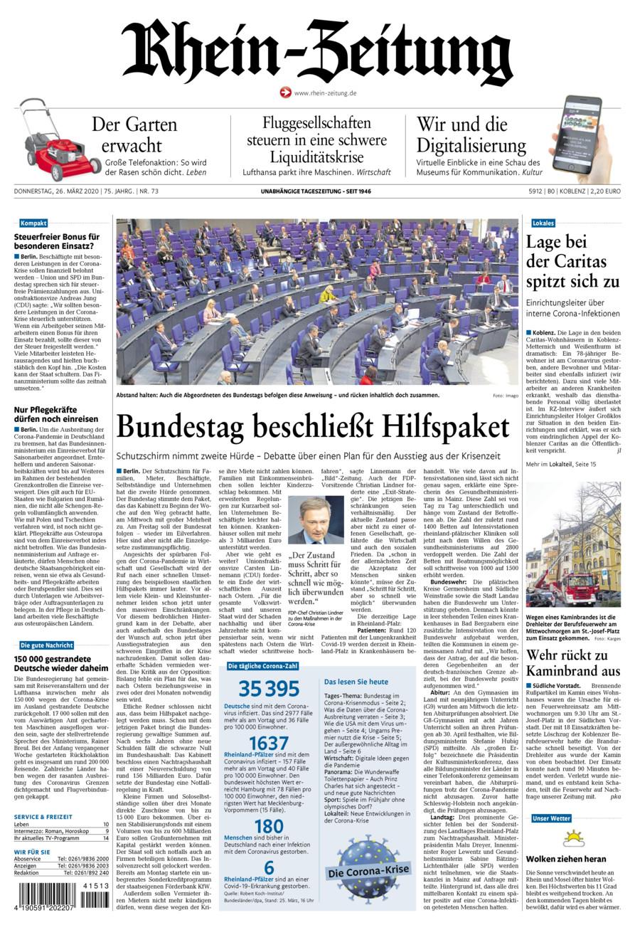 Rhein zeitung koblenz bekanntschaften