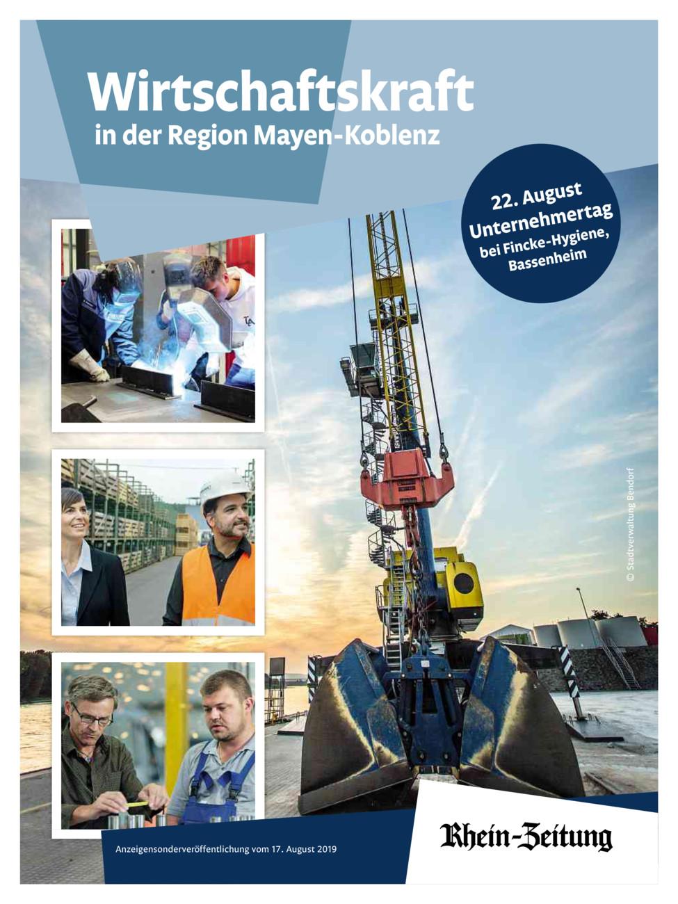 Wirtschaftskraft in der Region MYK