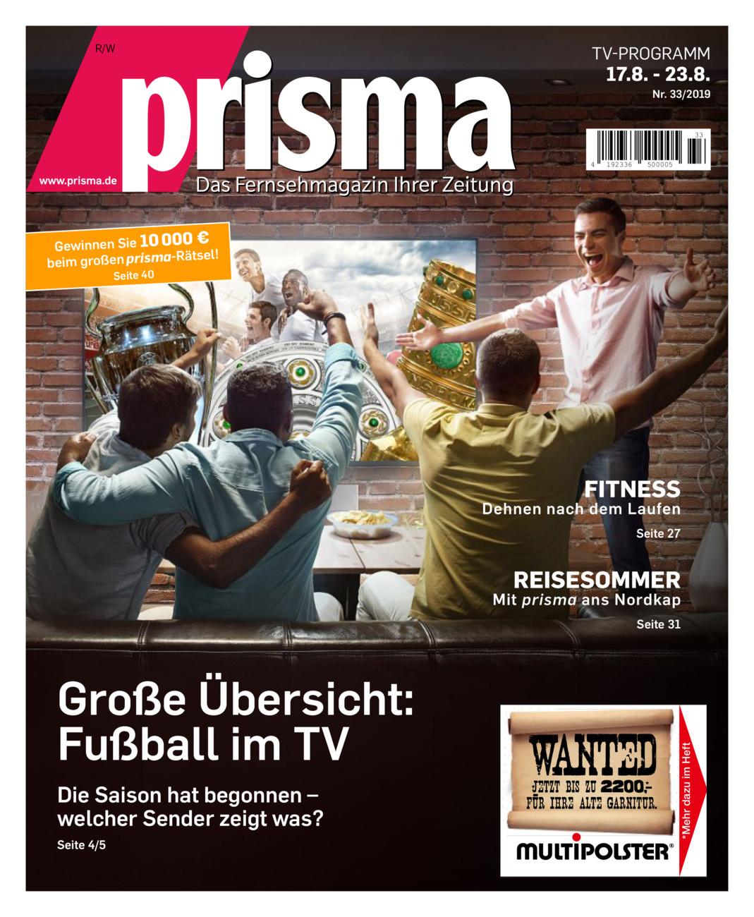 Prisma 17.8. - 23.8.