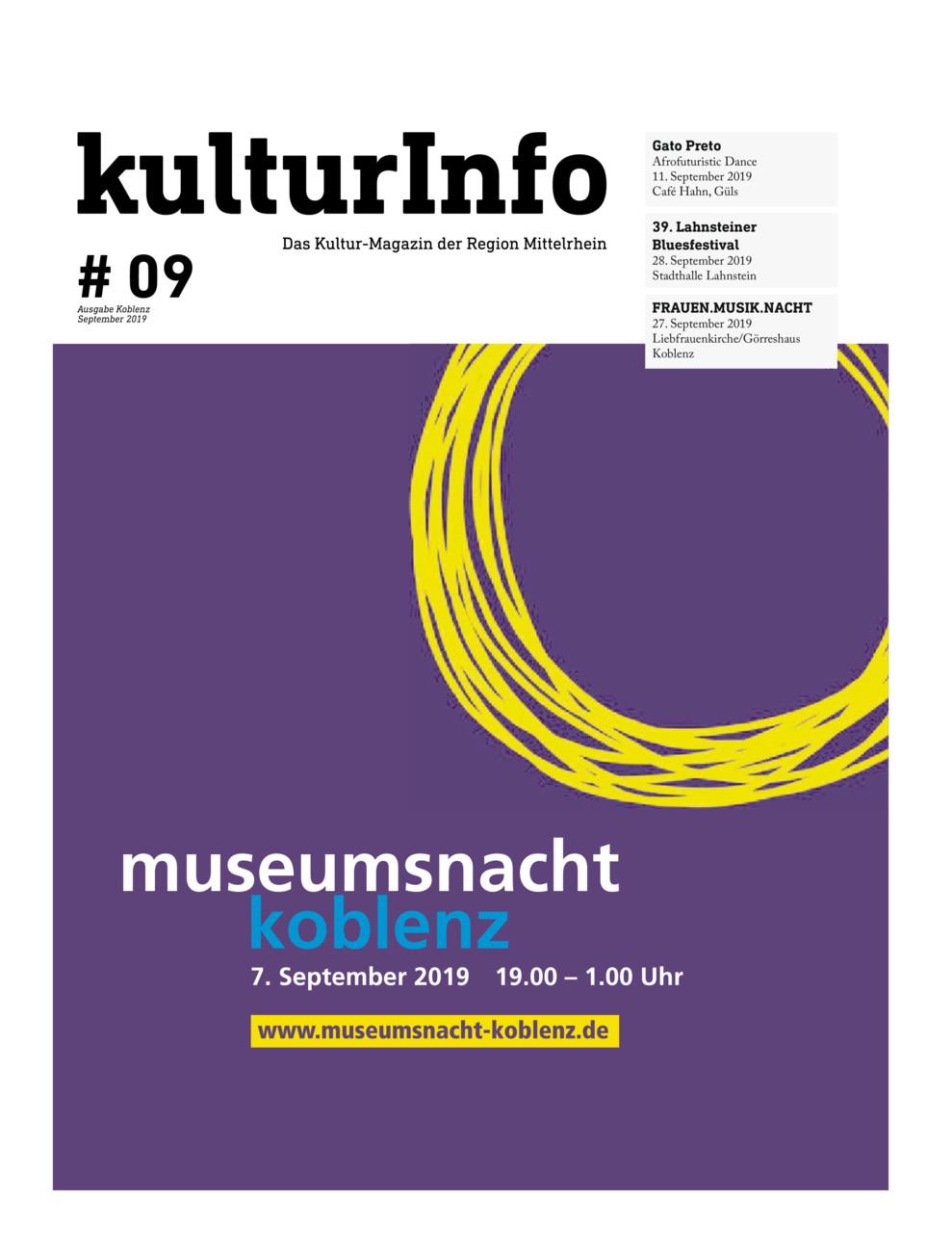 Kulturinfo 8/2019