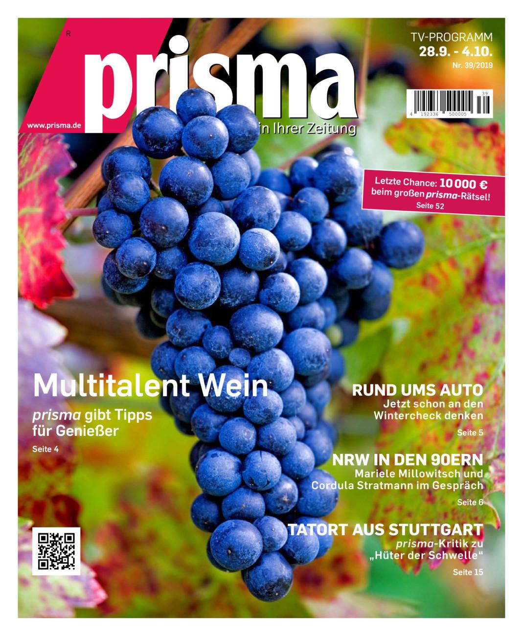 Prisma 28.09. - 04.10.