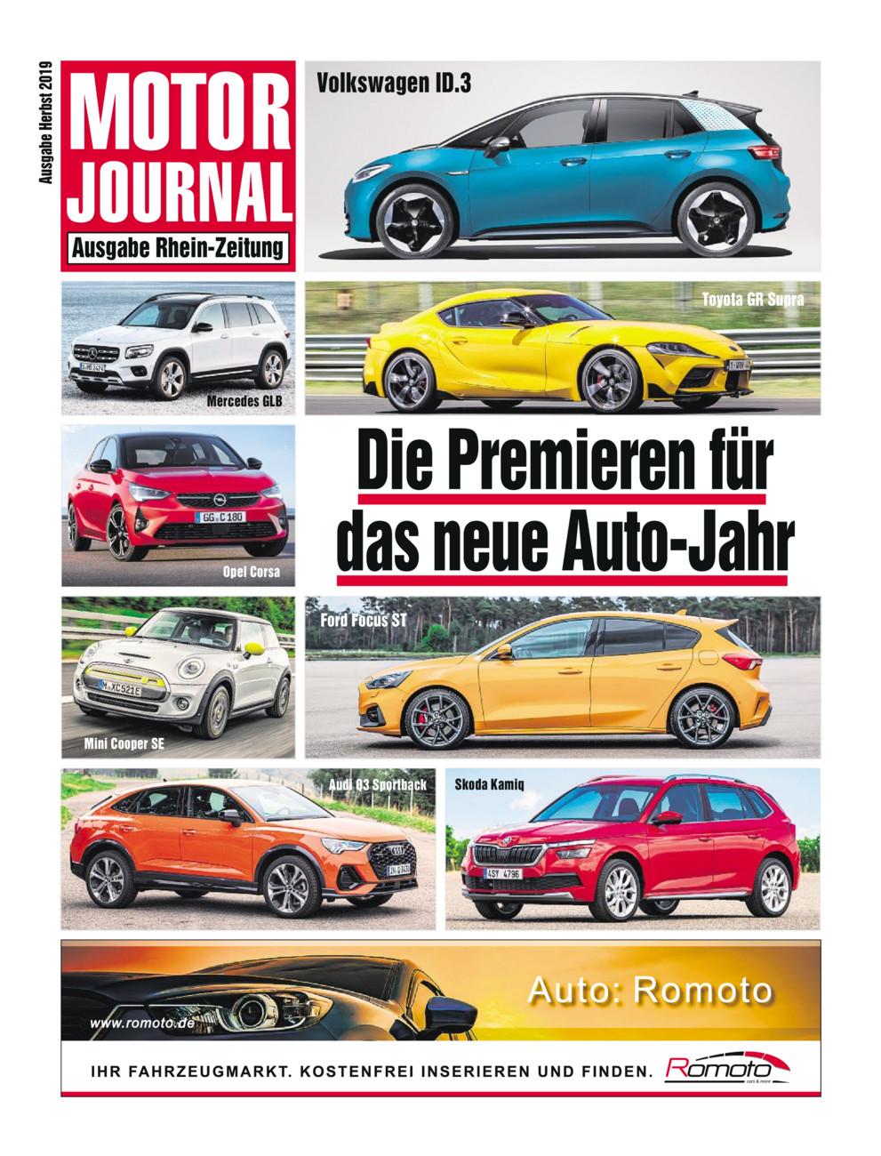 Motorjournal Herbst 2019