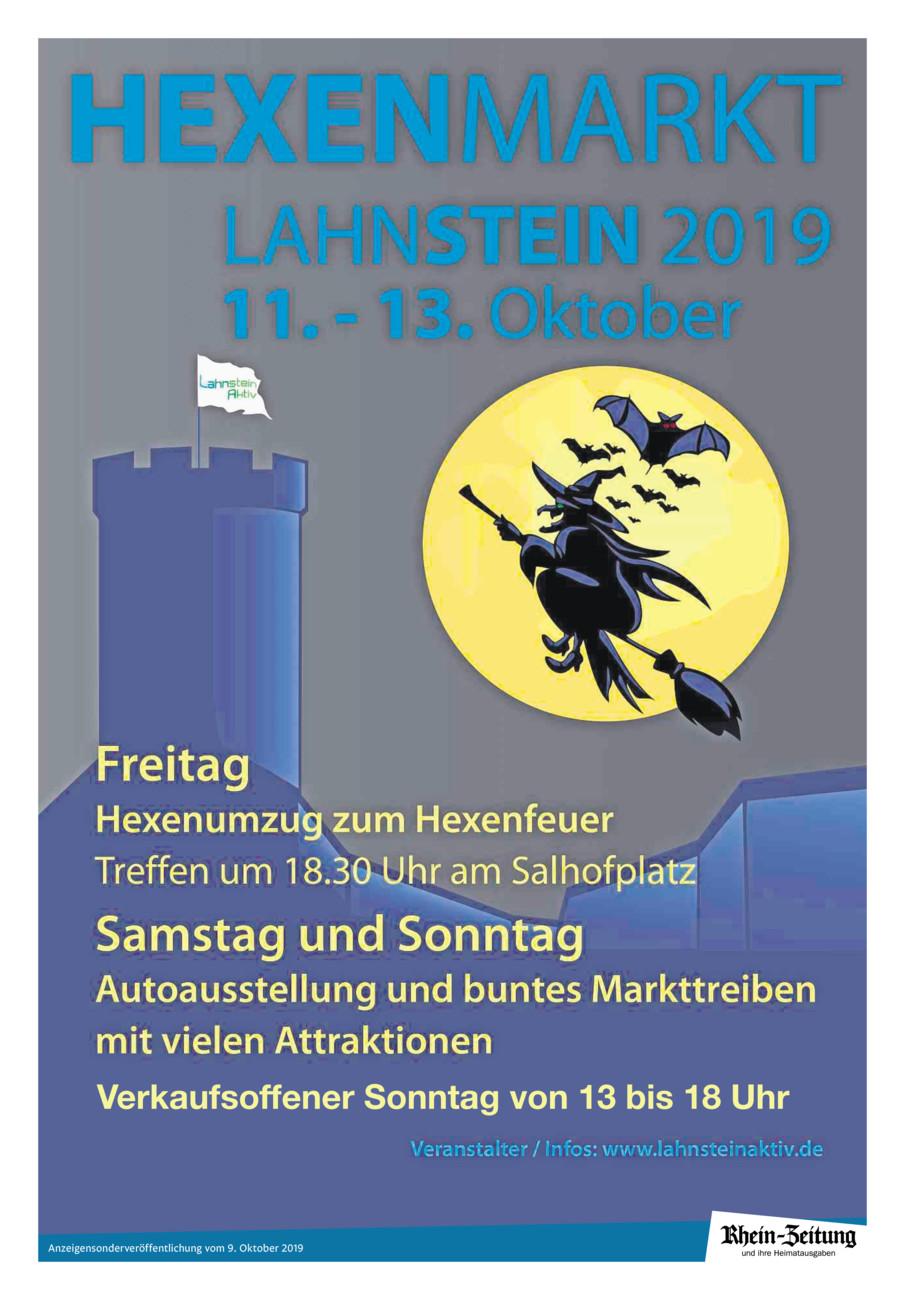 Hexenmarkt Lahnstein 2019