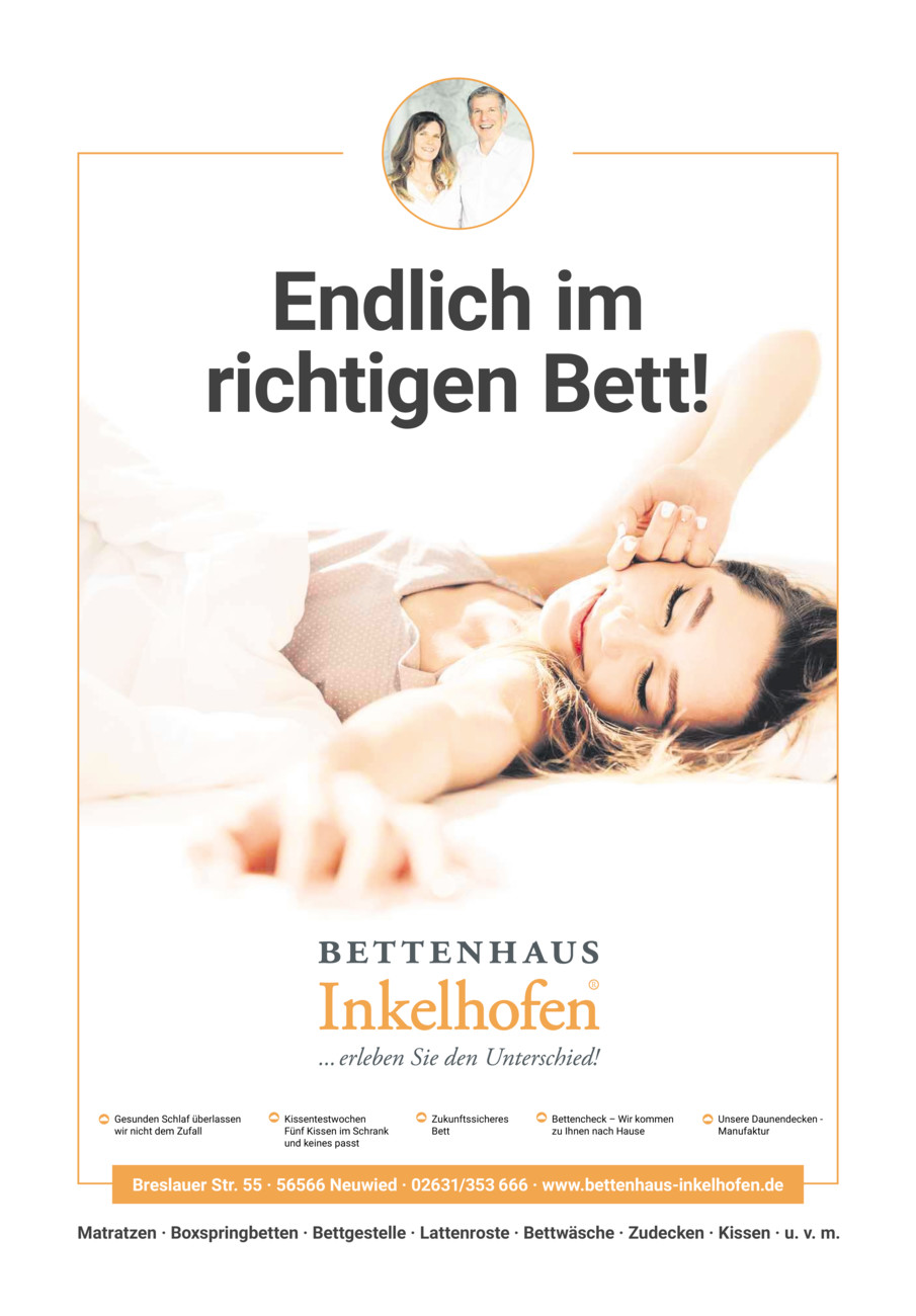 Prospektstrecke Bettenhaus Inkelhofen