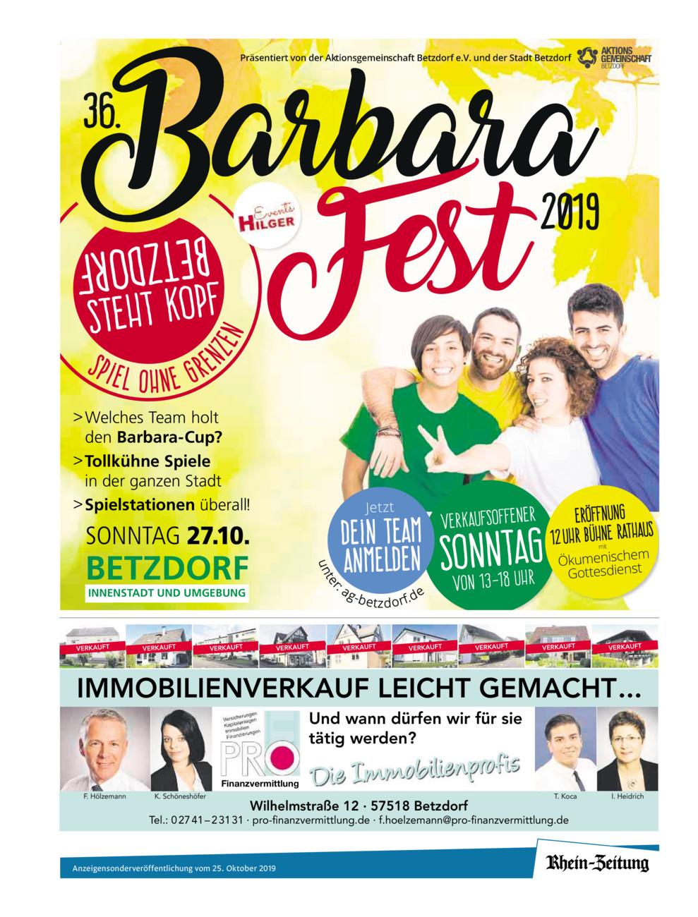 Barbarafest 2019