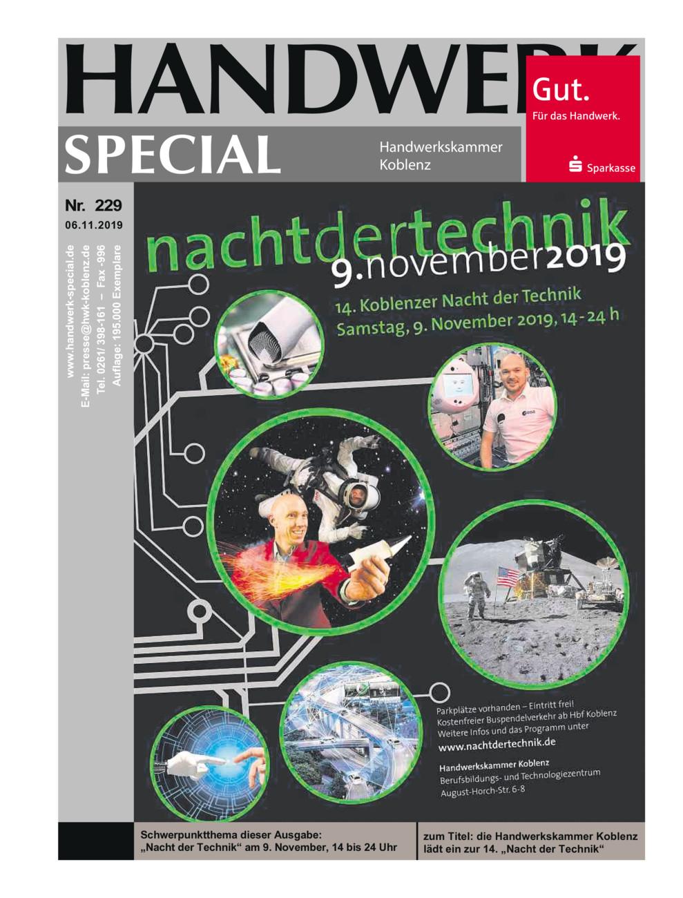 Handwerk Spezial 229
