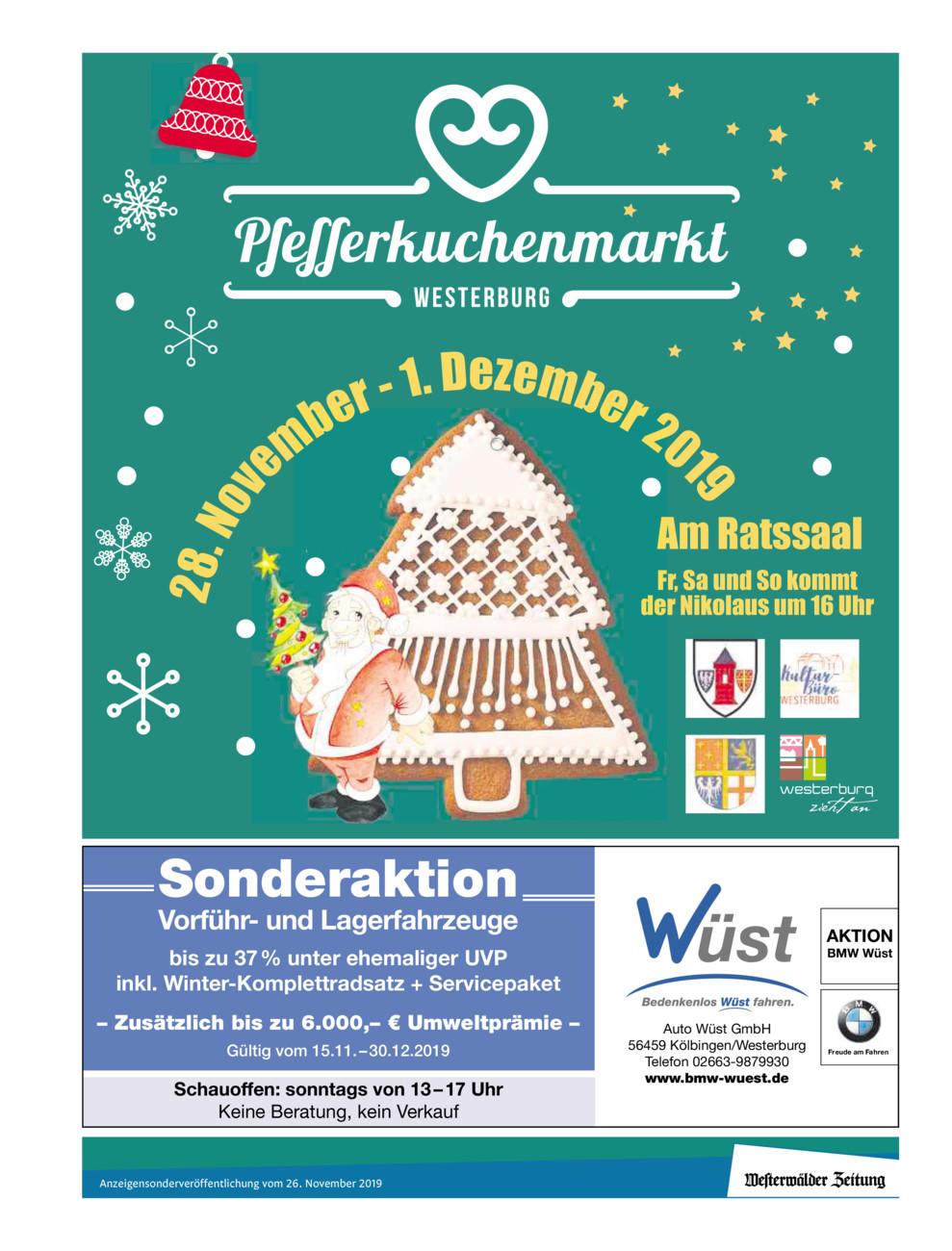 Pfefferkuchenmarkt Westerburg 2019