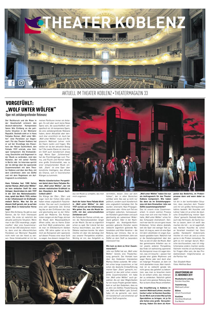 Theatermagazin Koblenz