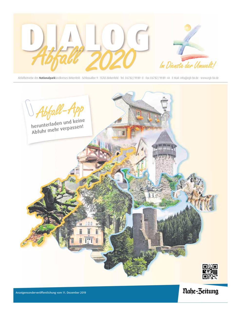 Dialog Abfall 2020