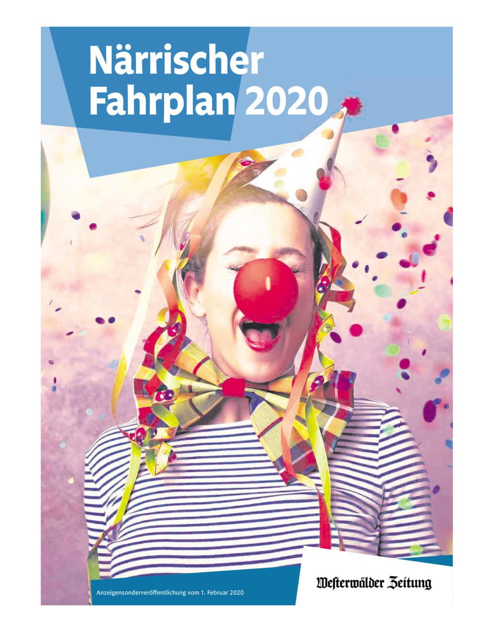 F - Narrenfahrplan 2020