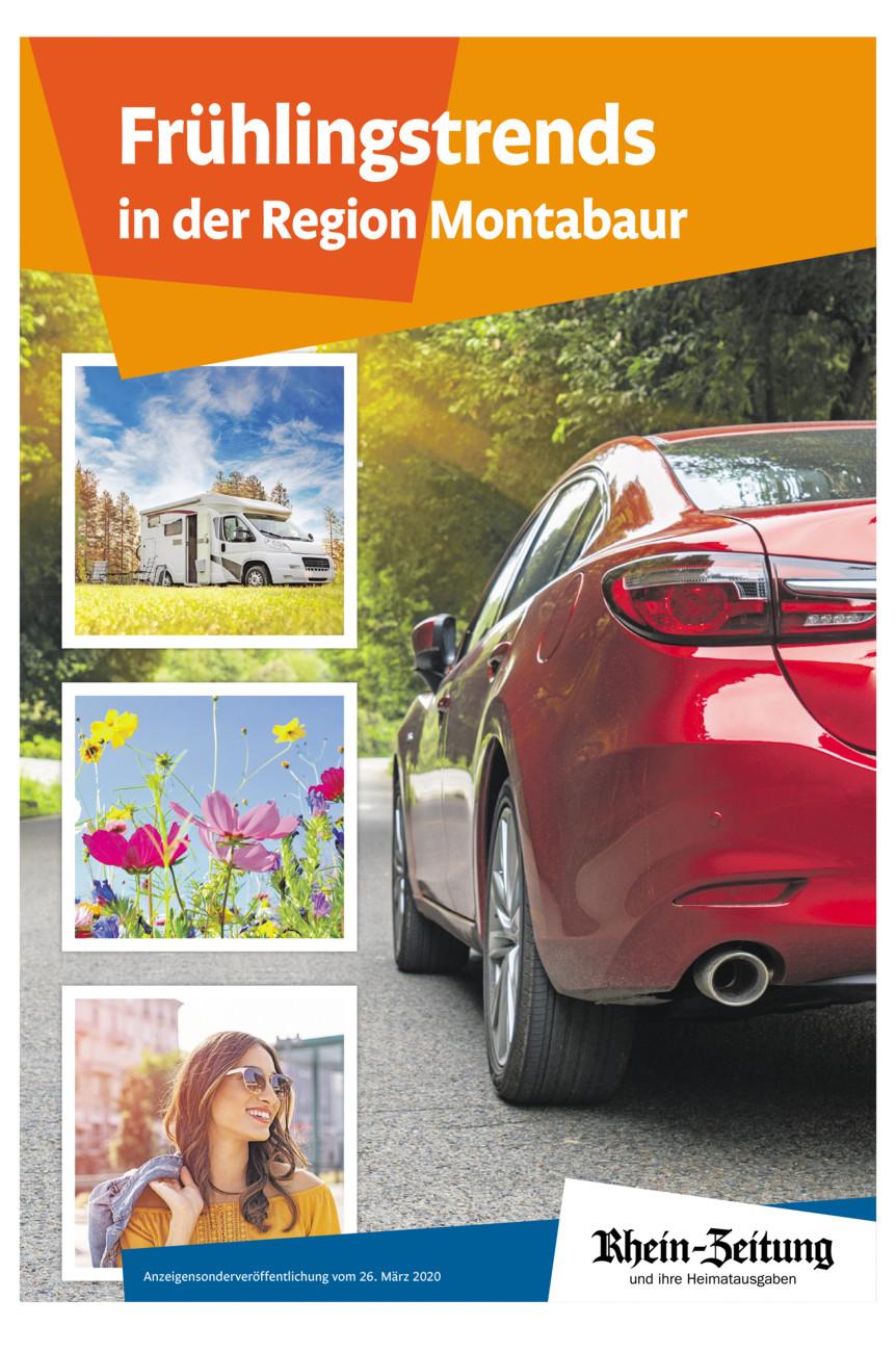 Frühlingstrends in der Region Montabaur